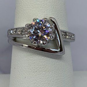RS Covenant Sparkling Solitaire CZ Ring